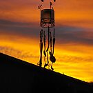 Chimes in silhouette by Matthew Sims