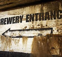 Brewery Entrance by Jacki Temple
