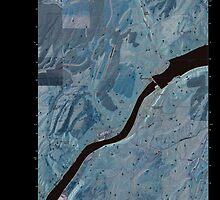USGS Topo Map Washington State WA Lower Monumental Dam 20110404 TM Inverted by wetdryvac