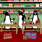 Christmas Penguin Workshop by Paul Fleet