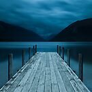 Lake Rotoiti - New Zealand by Kimball Chen