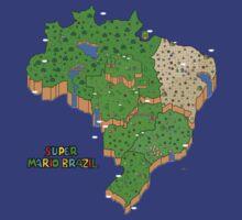 Super Mario Brazil by Rodrigo Marckezini