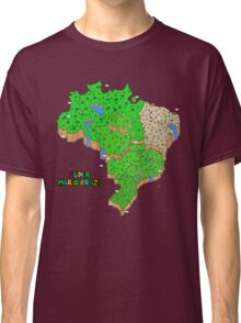 Super Mario Brazil Classic T-Shirt