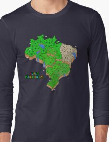 Super Mario Brazil Long Sleeve T-Shirt