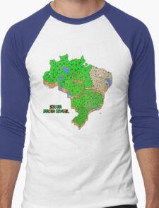 Super Mario Brazil Men's Baseball ¾ T-Shirt