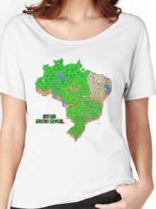 Super Mario Brazil Women's Relaxed Fit T-Shirt
