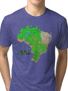 Super Mario Brazil Tri-blend T-Shirt