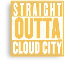 Straight Outta Cloud City Canvas Print