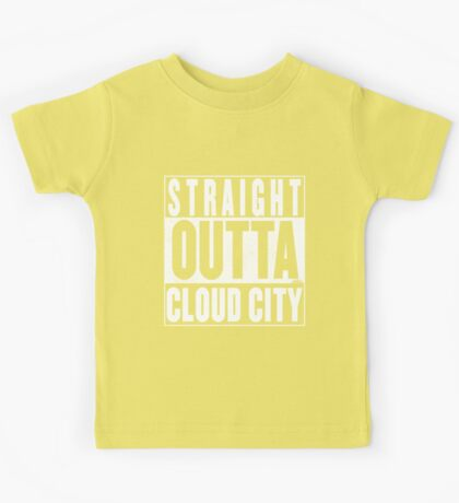 Straight Outta Cloud City Kids Tee