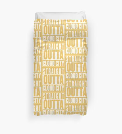 Straight Outta Cloud City Duvet Cover