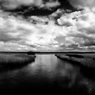 Black and white panorama by Henrik Hansen