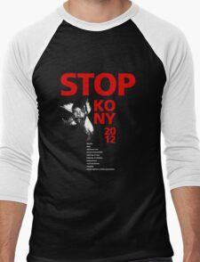 STOP KONY 2012 Men's Baseball ¾ T-Shirt