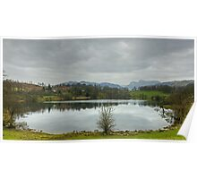 A Walk By Mere,Tarn and Water - Loughrigg Tarn Poster