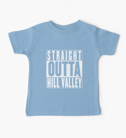 Straight Outta Hill Valley Baby Tee