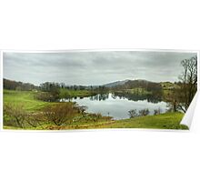 A Walk By Mere,Tarn and Water - The Tarn By Loughrigg Poster