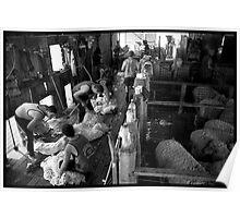 Shearing At The Station Poster