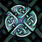 Traditional Celtic Design in Turquoise by IceFaerie