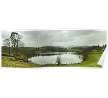 A Walk By Mere,Tarn and Water - Tarn & Cottage Poster