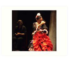 Flamenco in Seville Art Print