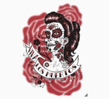 Day of the Dead Girl T-shirt 3 by rawjawbone