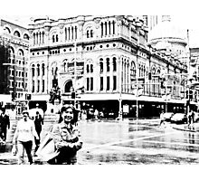 The down town Sydney...Got Featured Work Photographic Print