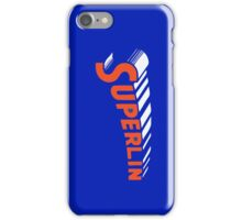 Super Lin! Jeremy Lin New York Knicks Linsanity Iphone Case Blue iPhone Case/Skin