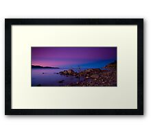 Rose Bay Calm Framed Print