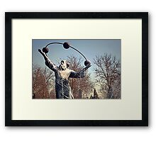 He Who Sees The Truth Framed Print