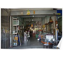 Shop Front Chaing Mai Poster
