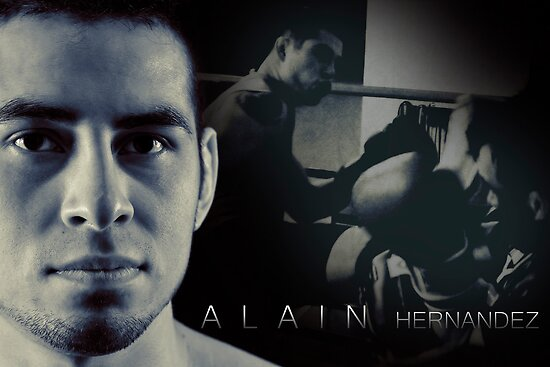 Alain Hernandez Mixed Martial Artist by Lisa Knechtel