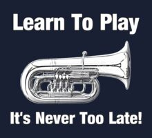 Learn To Play Tuba Kids Clothes
