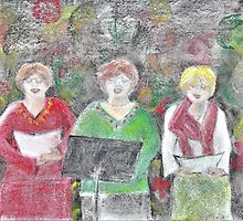 New Year's Eve Choir by Shelda Whited