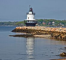 Spring Point Light, Portland, ME by Stephen Cross Photography