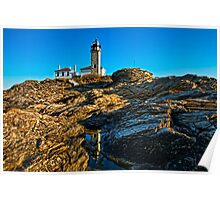 Beavertail Light, Jamestown, RI Poster
