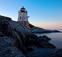 Castle Hill Lighthouse, Newport, RI by Stephen Cross Photography