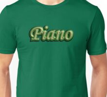 Cool Piano Unisex T-Shirt