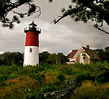 Nauset Light, Eastham, MA by Stephen Cross Photography