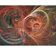 Abstract galaxy Photographic Print