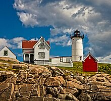 Nubble Lighthouse, York, ME by Stephen Cross Photography