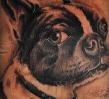 JG Zen Tattoo Sticker