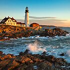 Portland Head Light, Cape Elizabeth, ME by Stephen Cross Photography