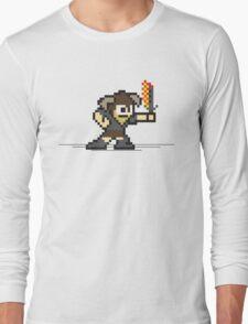 8 Bit Dragonborn Long Sleeve T-Shirt