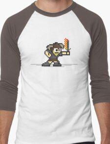 8 Bit Dragonborn Men's Baseball ¾ T-Shirt