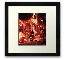 Hell Is Waiting Framed Print