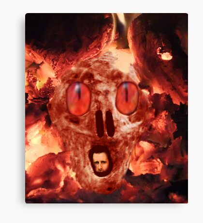 Hell Is Waiting Canvas Print