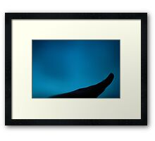 Hand In The Darkness Framed Print