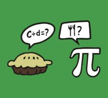 Pie and Pi Kids Tee