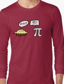 Pie and Pi Long Sleeve T-Shirt