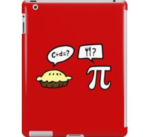 Pie and Pi iPad Case/Skin