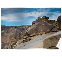 Augrabies rock formations #2 Poster